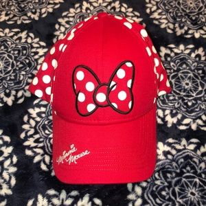 Red Minnie Mouse baseball hat!